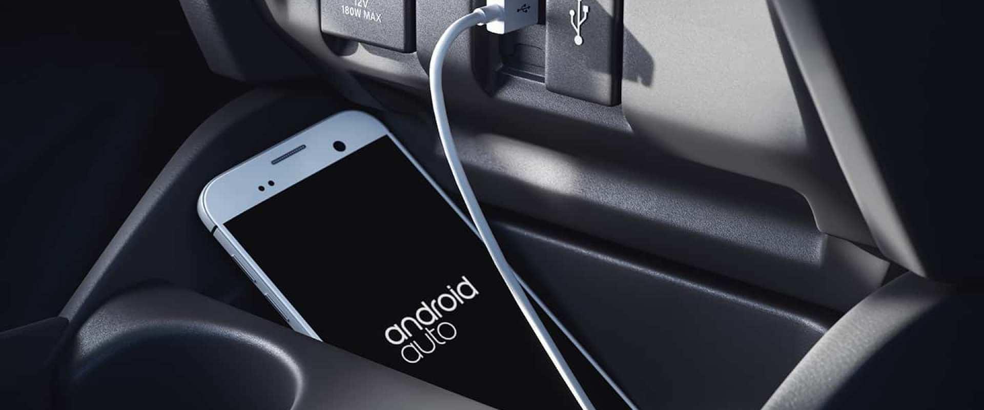 Interface intuitiva Google Android Auto®