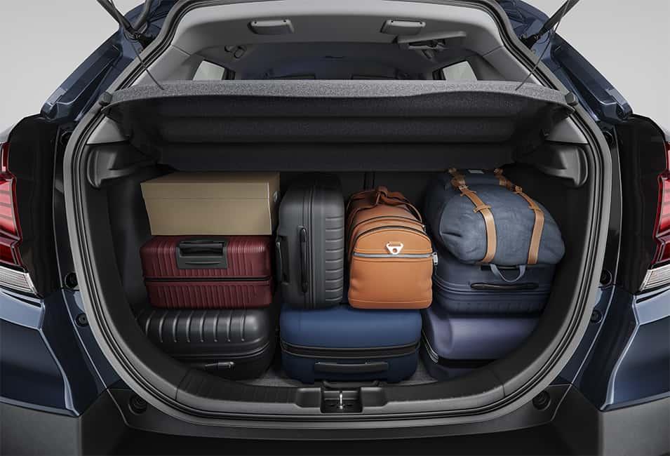 Amplo Porta-malas 363L