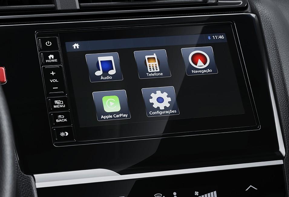 "Multimídia 7"" Touchscreen"