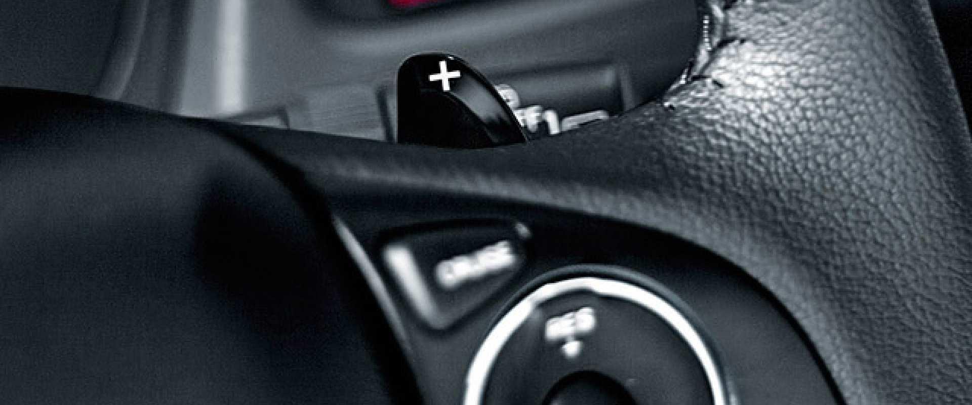 Troca de marcha no volante (Paddle Shift)