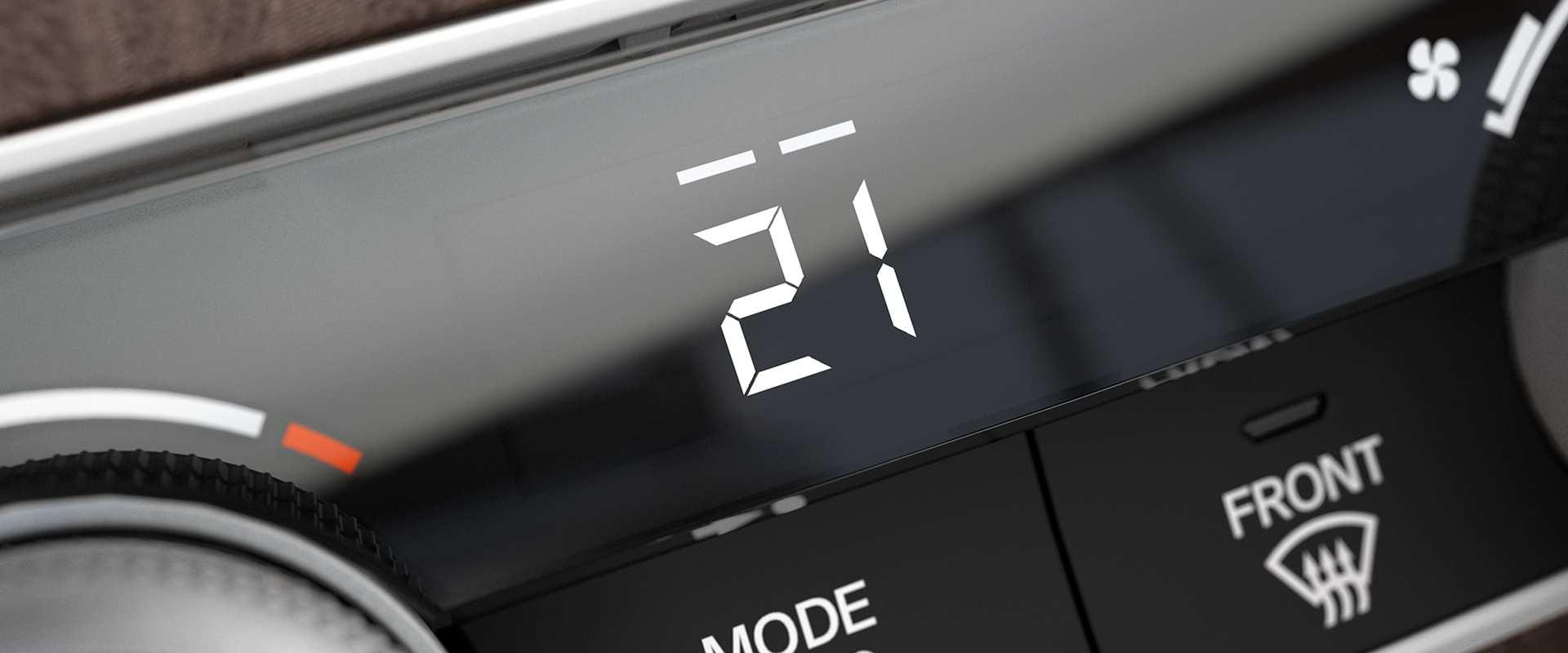 Ar-condicionado digital Dual Zone com difusores traseiros