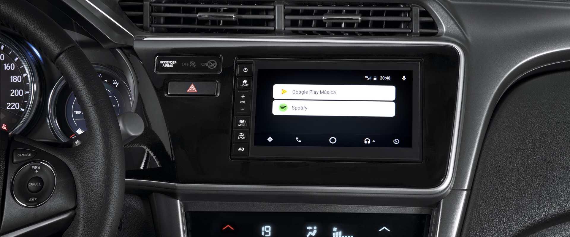Interface intuitiva Google Android Auto™