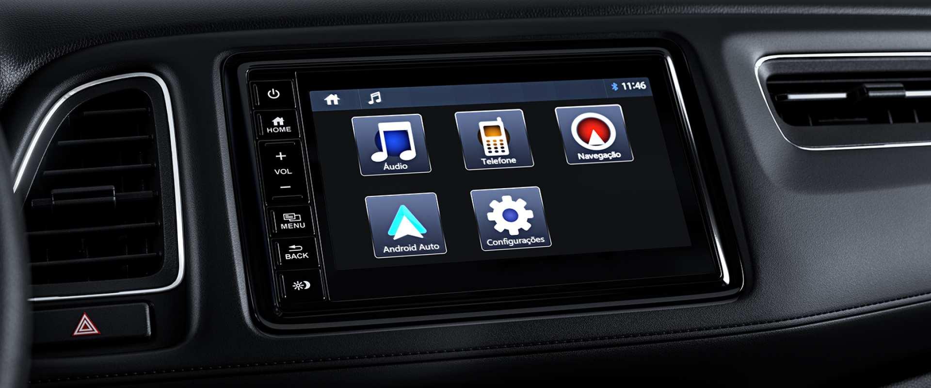 "Multimídia 7"" com tela multi-touchscreen"