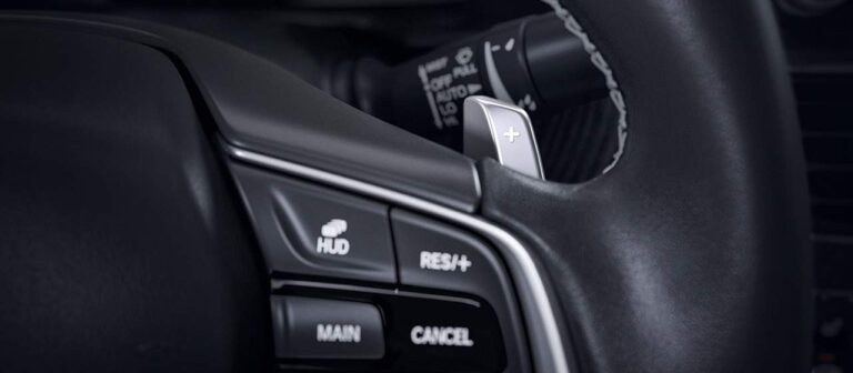 Trocas de marchas no volante (Paddle Shift)
